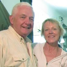Luke Clyburn and Kathy Trax